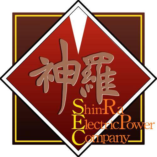 FF7 神羅カンパニーのロゴ