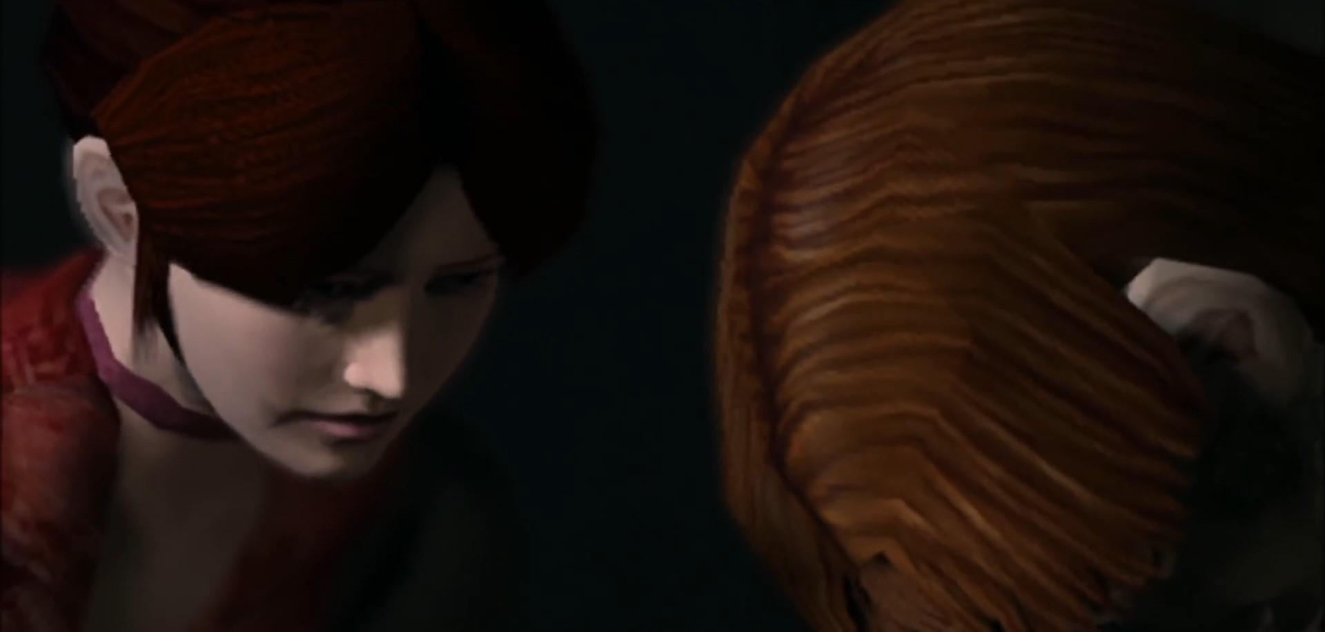 バイオコードベロニカ スティーブがクレアに愛を告げ、命尽きるシーン