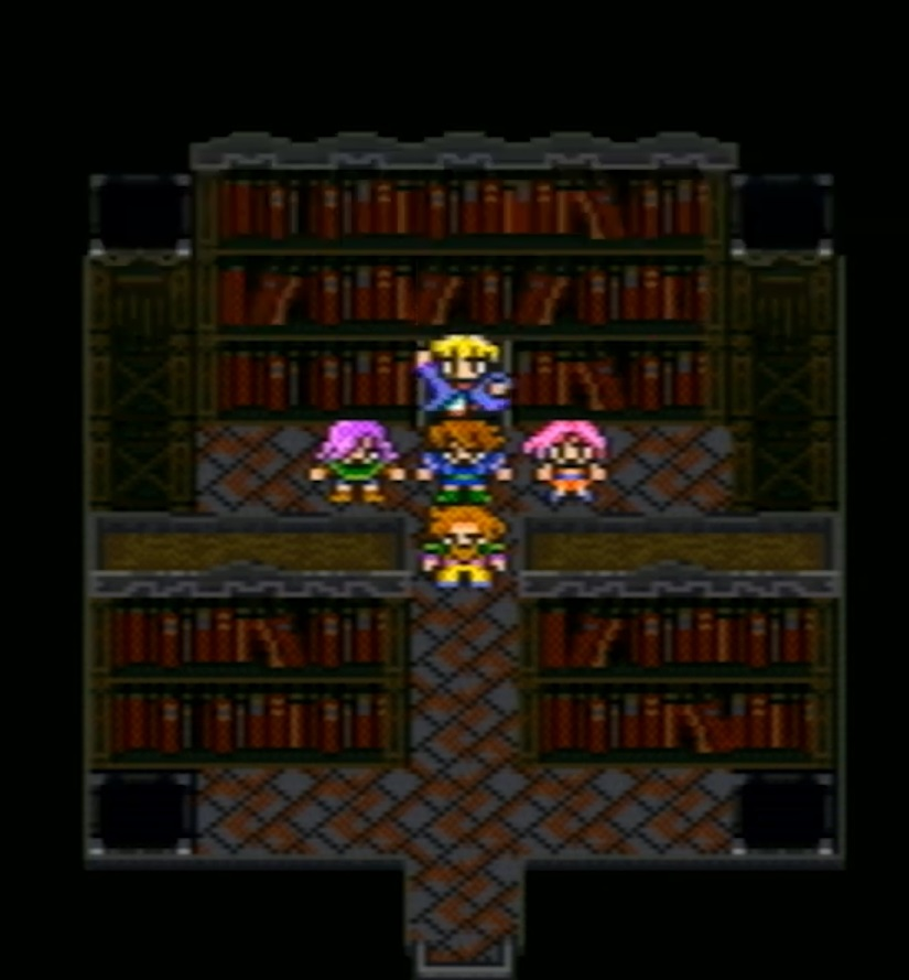 古代図書館でミドと出会う