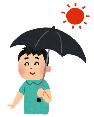 日傘 男性